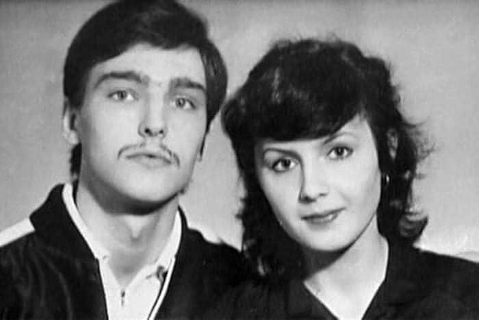 Андрей Державин с Еленой Шахутдиновой