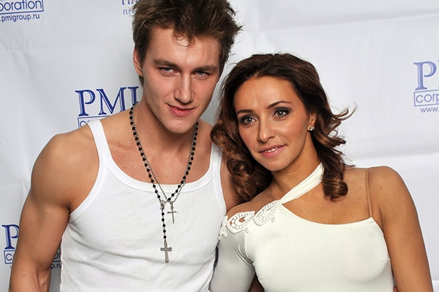Алексей Воробьев и Татьяна Навка