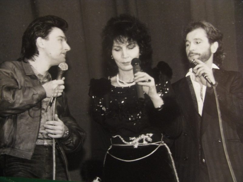 Андрей Державин с Игорем Тальковым