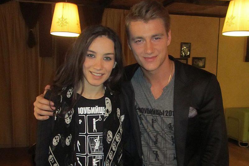 Алексей Воробьев с Викторией Дайнеко
