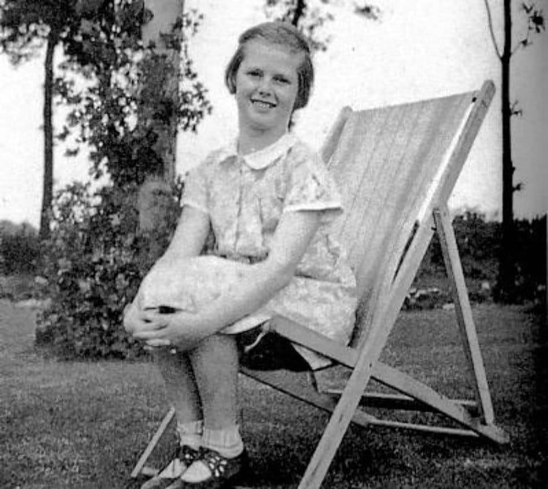 Маргарет Тэтчер в детстве