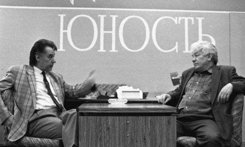 Андрей Дементьев главный редактор журнала  «Юность»