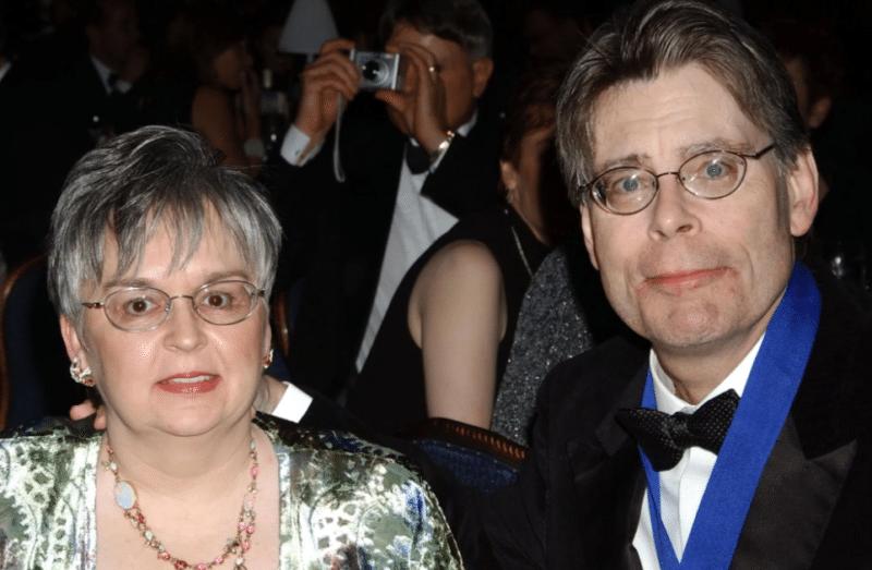 Стивен Кинг с женой Табитой Спрус