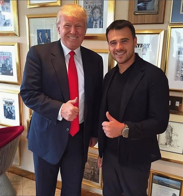 Эмин Агаларов с Трампом