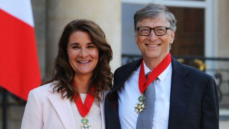 Билл Гейтс с женой Мелиндой сейчас