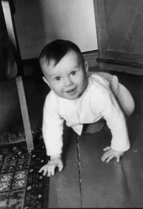 Сергей Наговицын в детстве