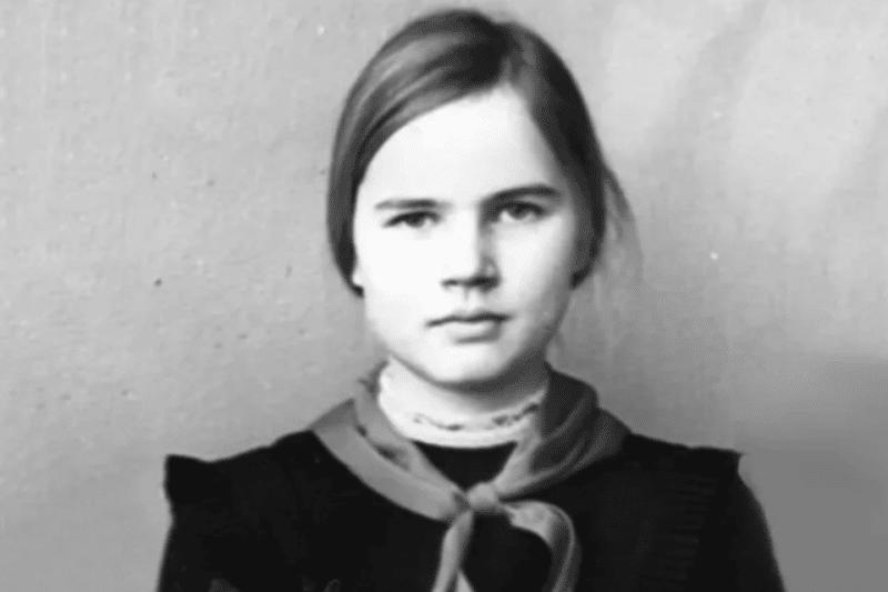 Татьяна Голикова в детстве