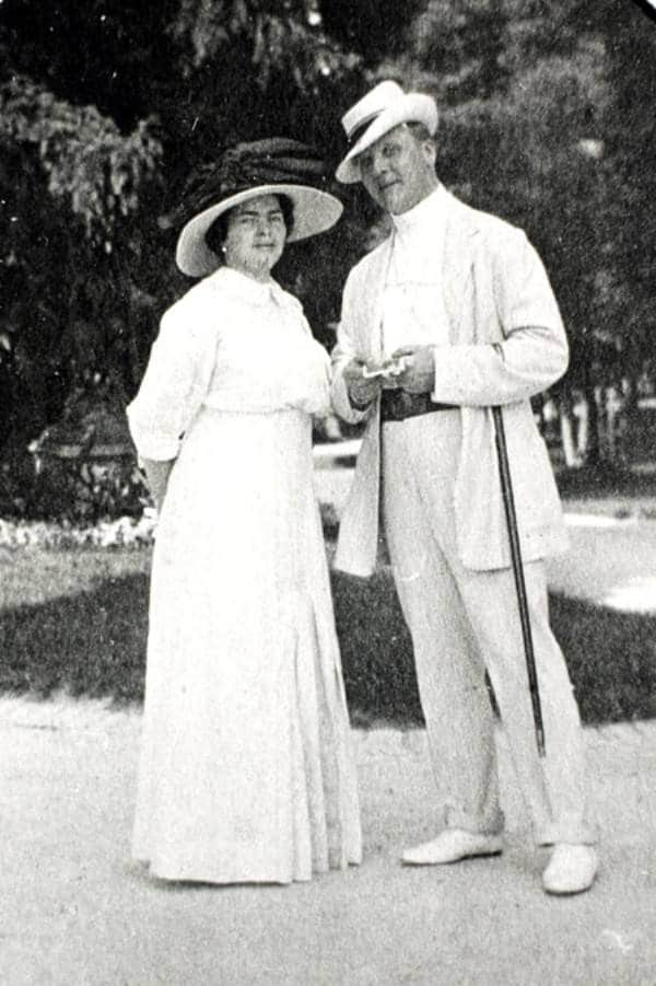 Федор Шаляпин с Марией Петцольд
