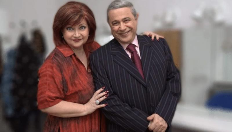 Евгений Петросян с Еленой Степаненко