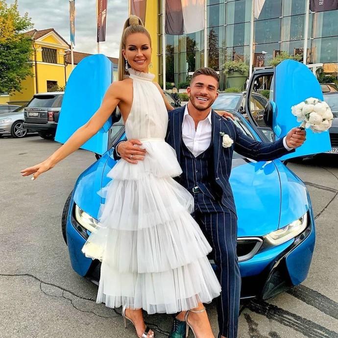 Свадьба Романа Капаклы и Марины Африкантовой