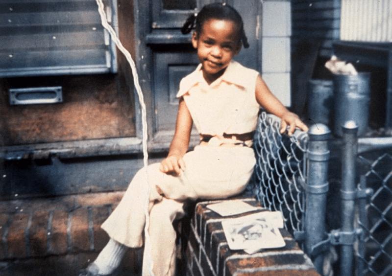 Уитни Хьюстон в детстве