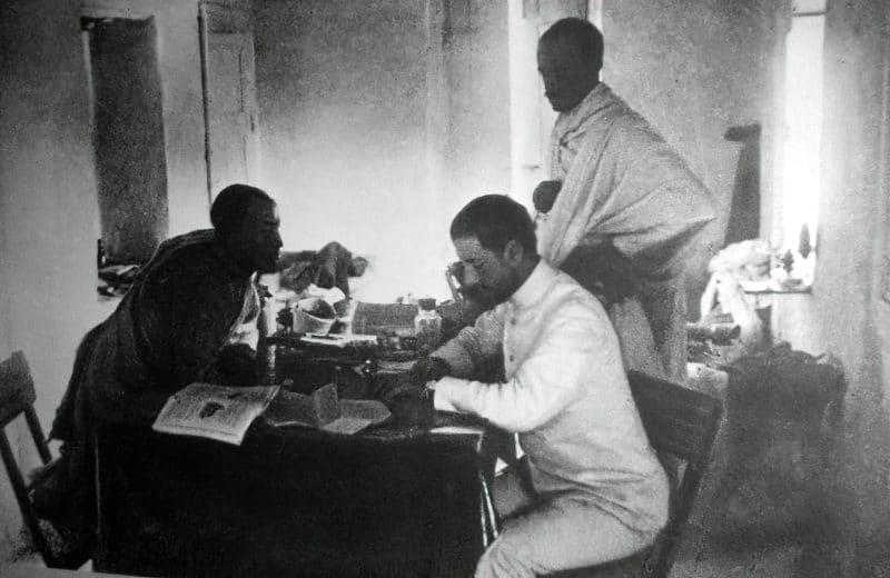 Николай Гумилев в африке