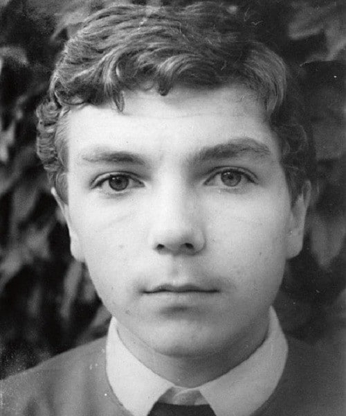 Юрий Николаев в юности