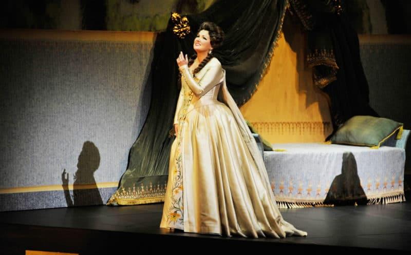 Анна Нетребко в Мариинском театре