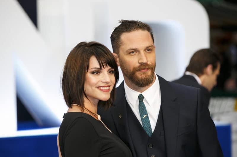 Том Харди с Шарлоттой Райли