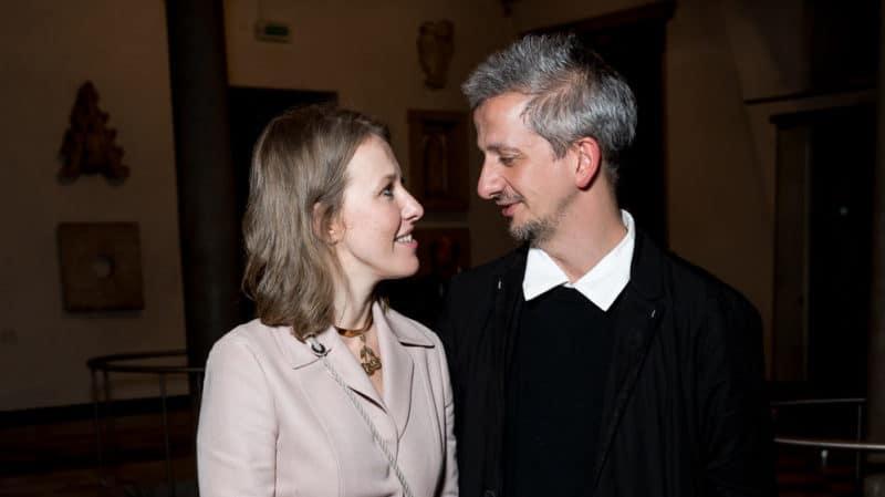 Константин Богомолов с Ксенией Собчак
