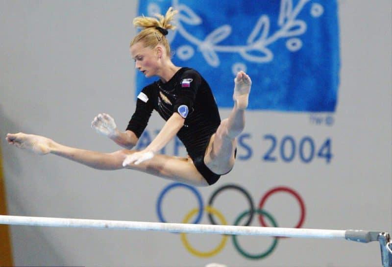 Светлана Хоркина на Олимпийских играх в Сиднее в 2000