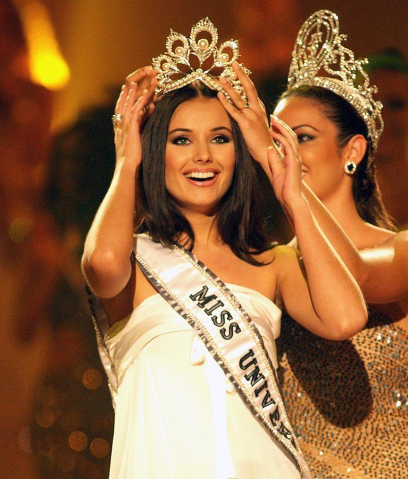 Оксана Федорова в конкурсе «Мисс Вселенная»