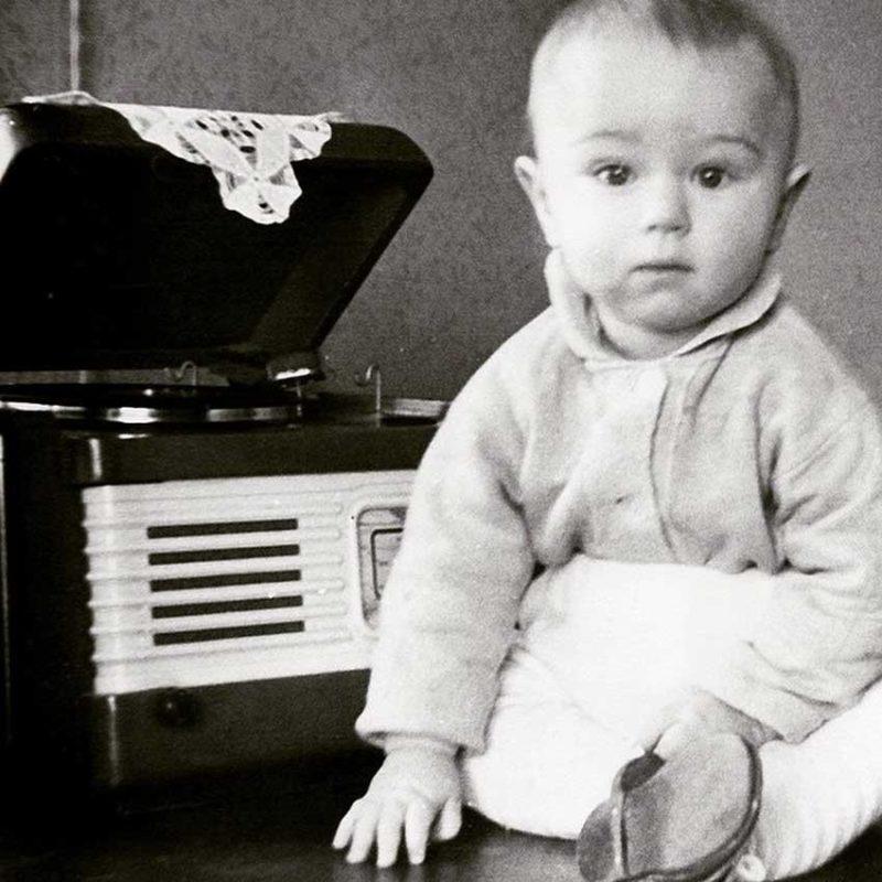 Валерий Сюткин в детстве