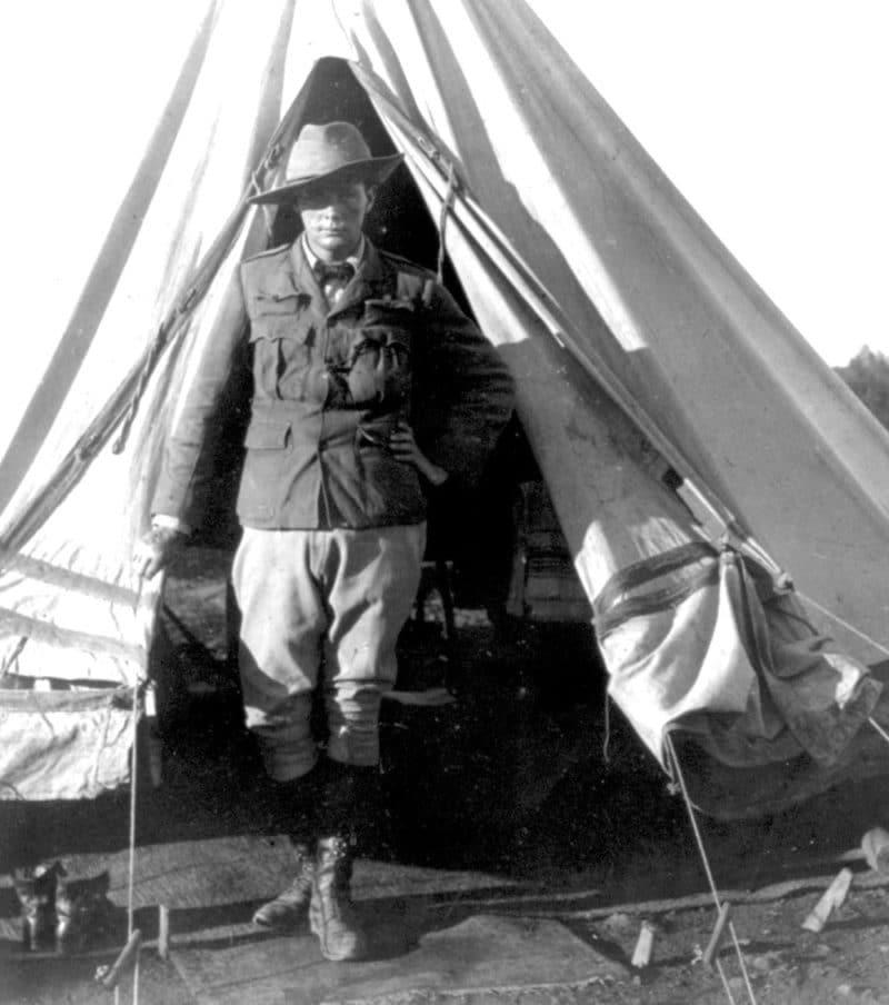 Уинстон Черчилль на должности военного корреспондента