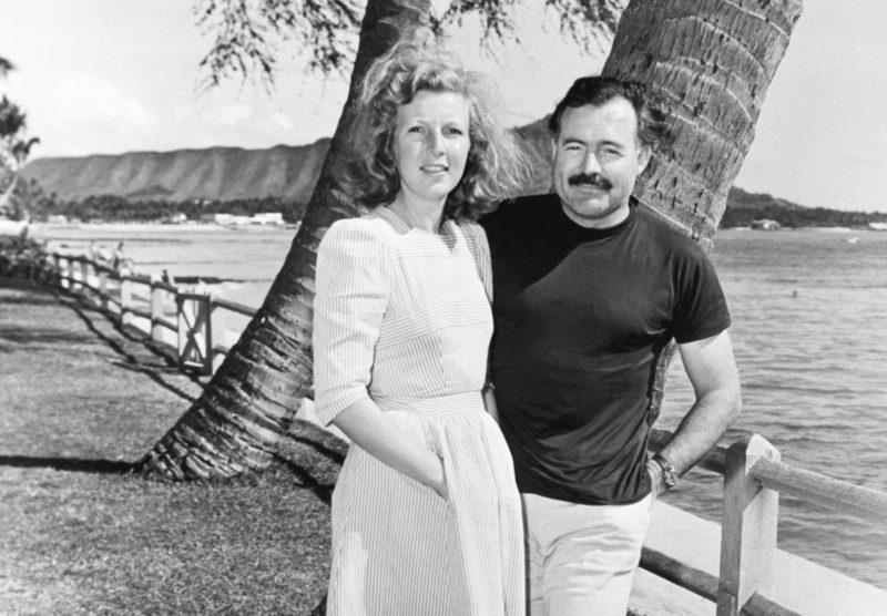 Эрнест Хемингуэй с 3 женой Мартой Геллхорн