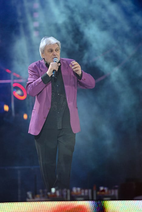 Вячеслав Добрынин на концерте