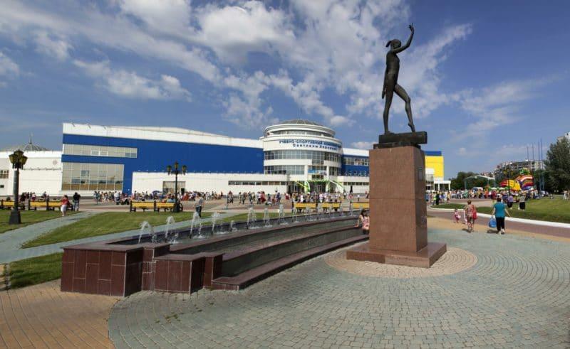 Памятник Светлане Хоркиной в Белгороде
