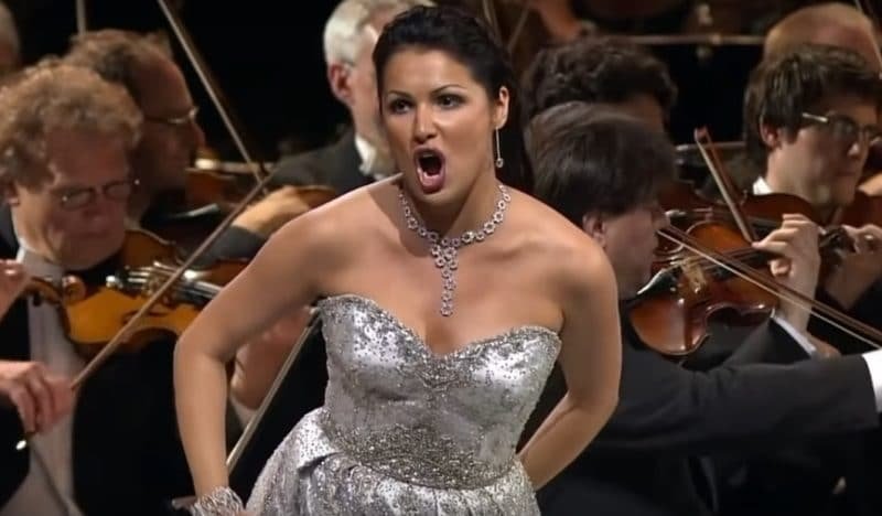 Анна Нетребко в опере «Джудитта»