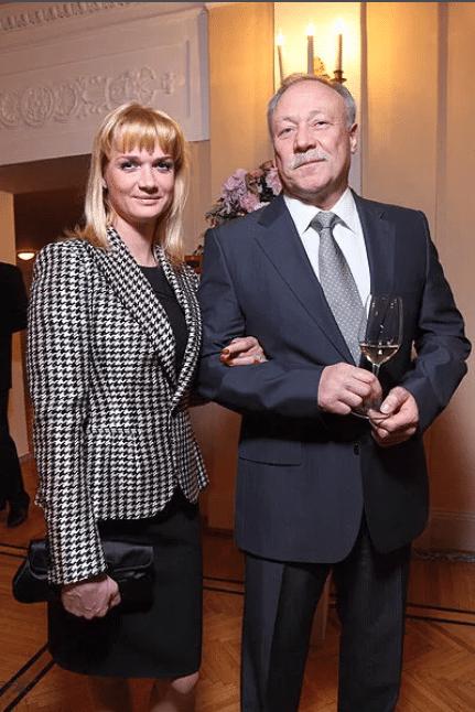 Светлана Хоркина с Олегом Кочновым
