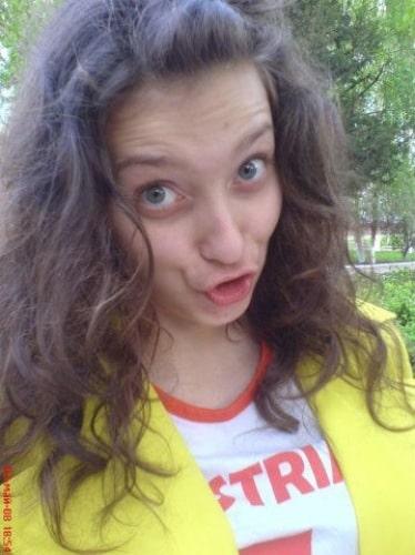 Регина Тодоренко в юности