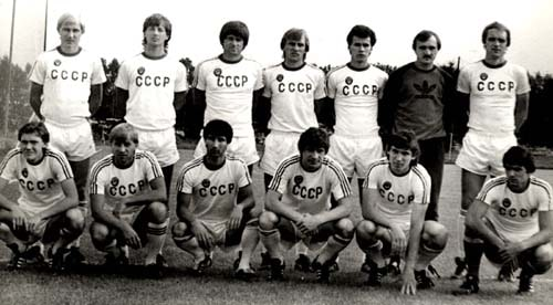 Игорь Скляров в сборной СССР