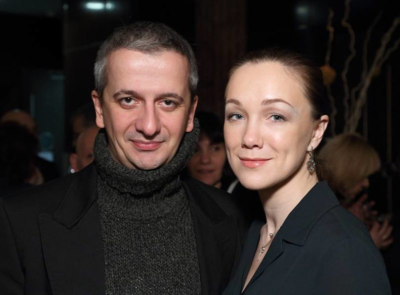 Константин Богомолов с Дарьей Мороз