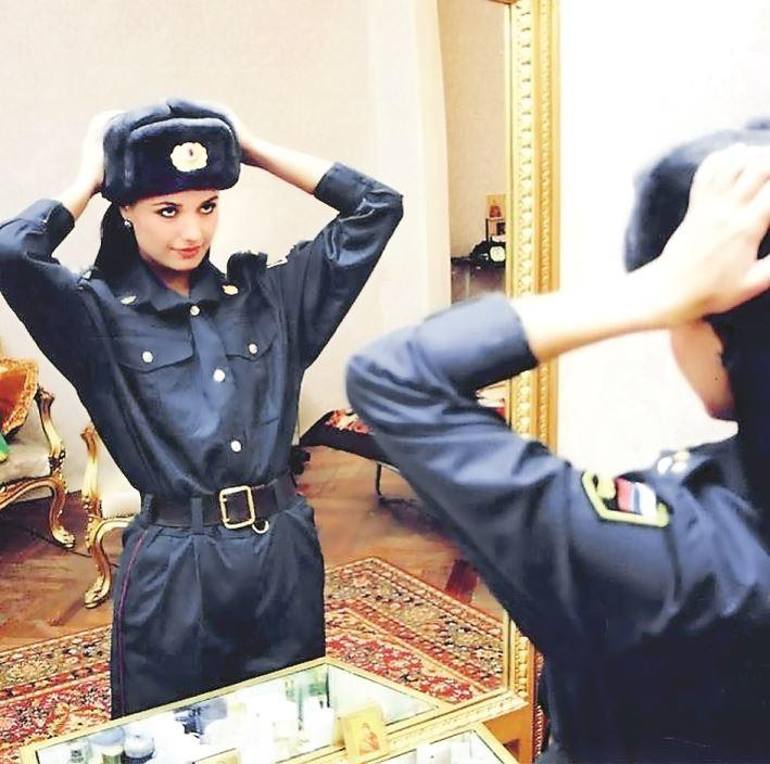 Оксана Федорова в полиции