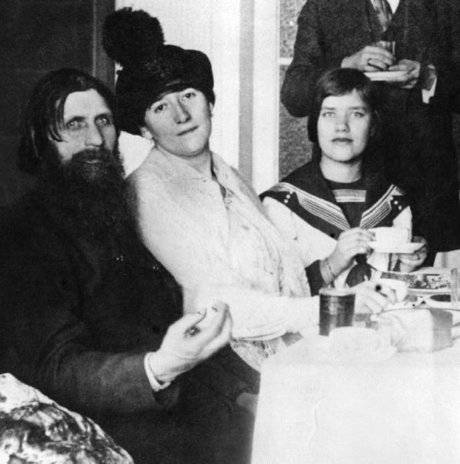 Григорий Распутин с семьей