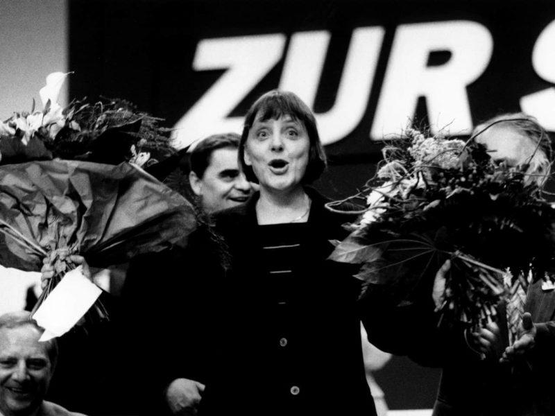 Ангела Меркель в партии «Демократический прорыв»