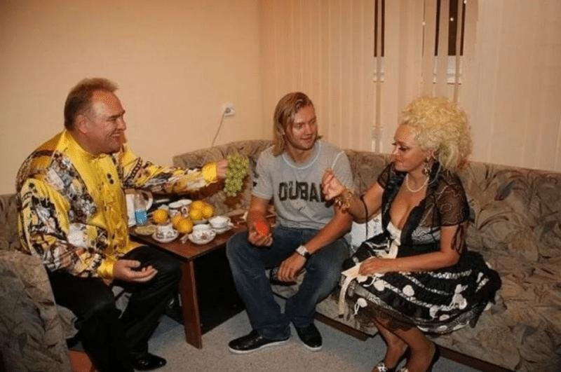 Надежда Кадышева с семьей