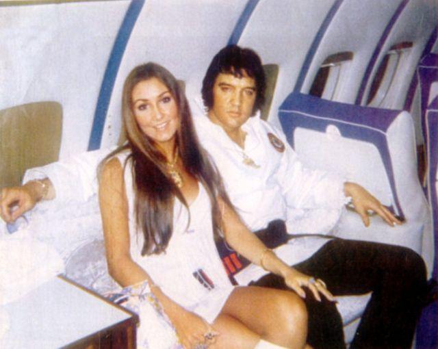 Элвис Пресли с Линдой Томпсон