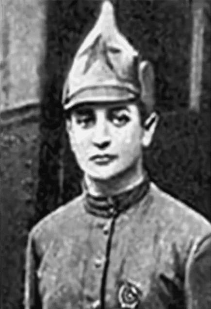 Александр Колчак в юности