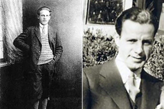 Оскар Шиндлер в молодости