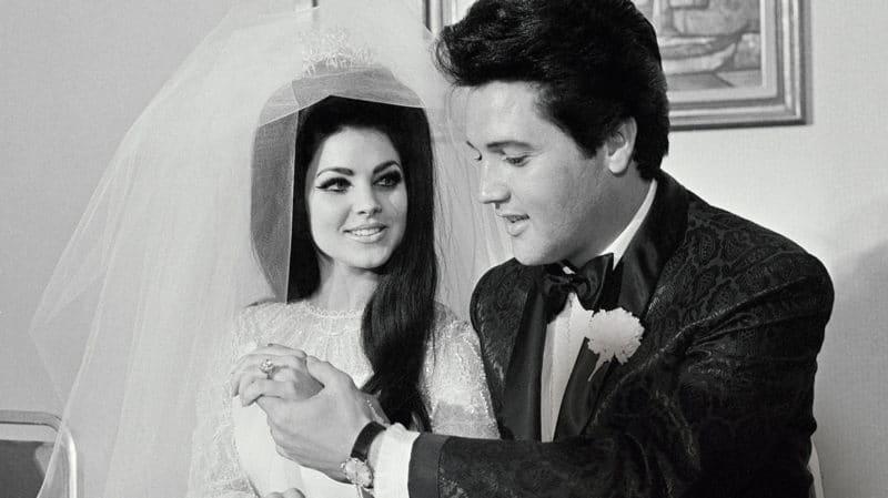 Свадьба Элвиса Пресли с Присциллой Булье