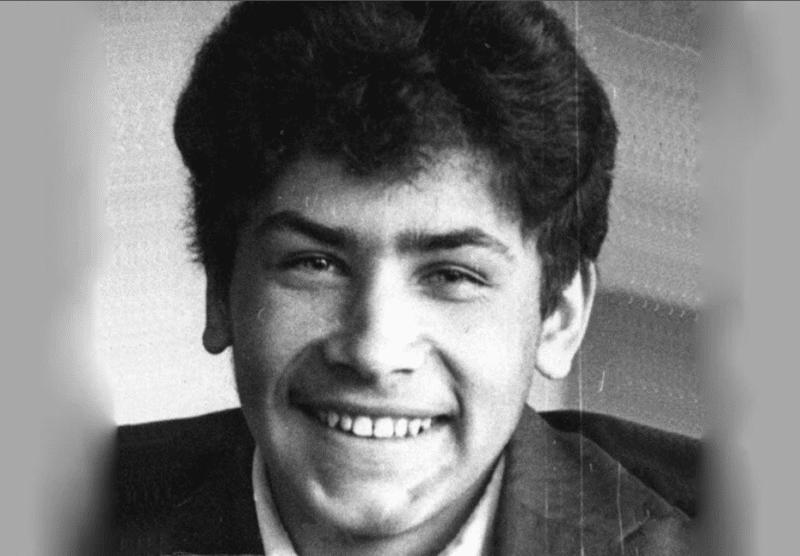 Николай Расторгуев в молодости