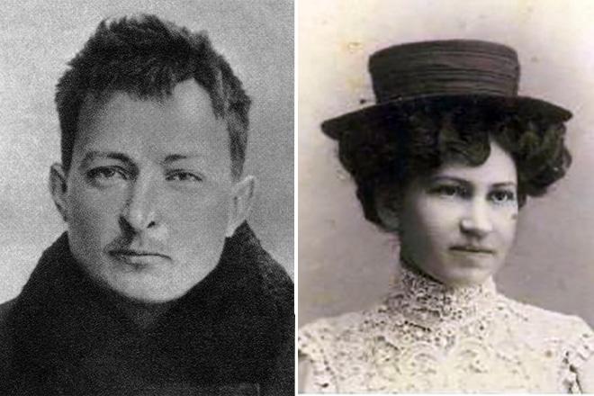 Феликс Дзержинский с Маргаритой Николаевой