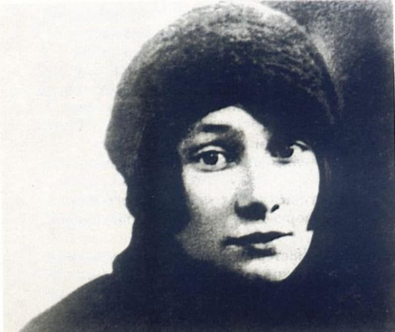 Вторая жена Николая Гумилева Анна Энгельгардт