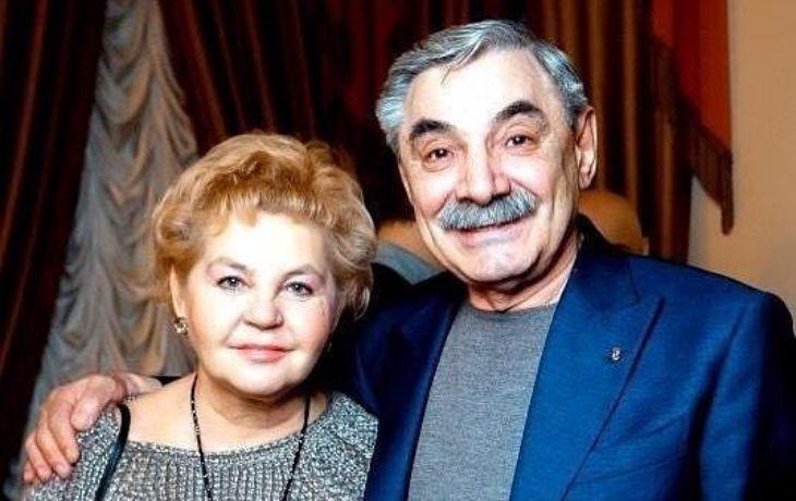 Александр Панкратов-Чёрный и Юлия Монахова