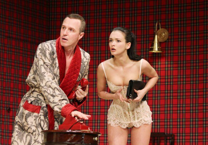 Паулина Андреева в театре