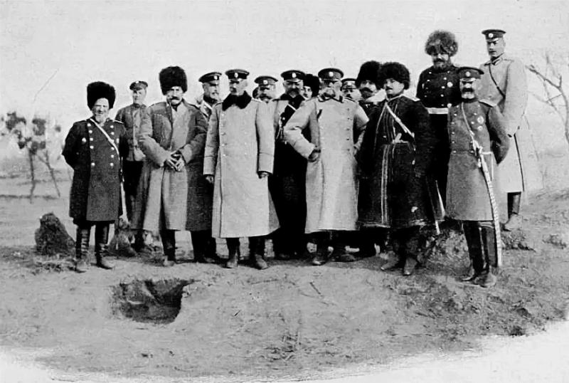 Штаб Адмирала Колчака в период Русско-японской войны