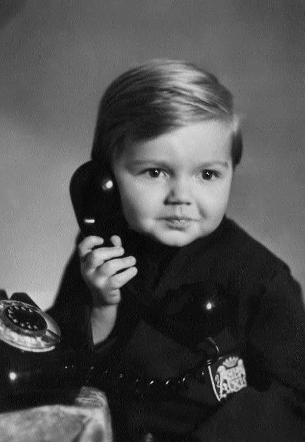 Дмитрий Маликов в детстве