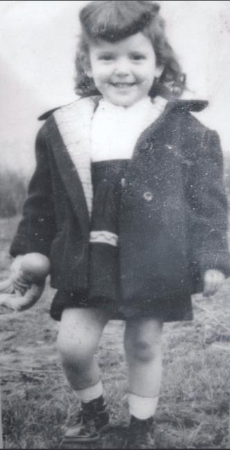 Джоан Роулинг в детстве
