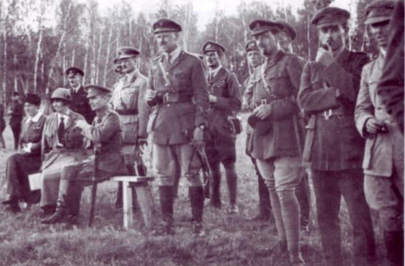 Александр Колчак с союзниками в период Первой мировой