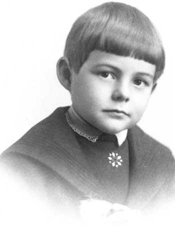 Эрнест Хемингуэй в детстве